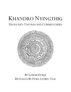 Khandro Nyingthig Dzogchen Tantras and Commentaries Cover